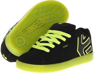 Etnies Fader (Toddler/Little Kid/Big Kid) (Black/Yellow) - Footwear