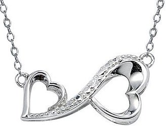 JCPenney Love GrowsTM Diamond Accent Heart Infinity Pendant