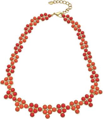 Carolee Coral Floral Necklace
