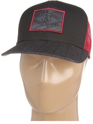 Volcom Square Patch Hat (Black) - Hats
