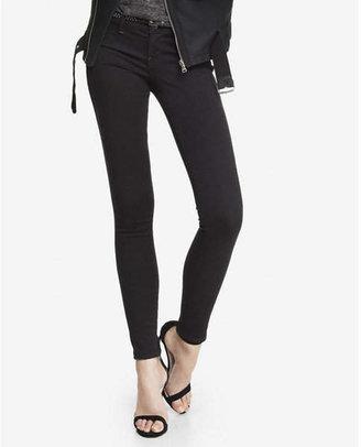 Express black low rise extreme stretch jean legging