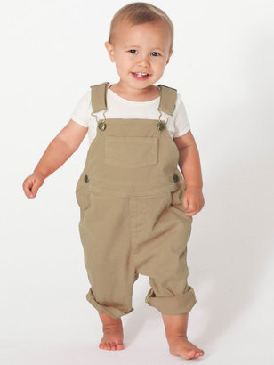 American Apparel Infant Stretch Twill Over-All Pant