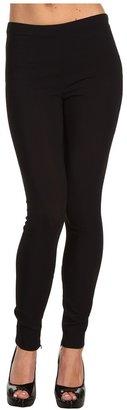 Love Moschino Legging With Cuffed Hem (Black) - Apparel