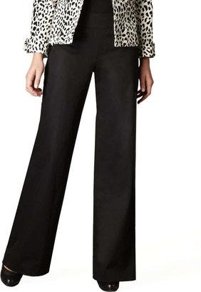 Neiman Marcus Wide-Leg Trousers