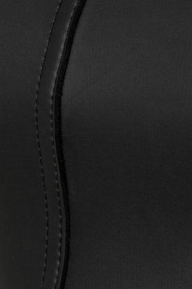 Mikoh Byron Bay rubberized neoprene bandeau bikini
