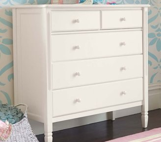 Pottery Barn Kids Madeline Dresser, Simply White