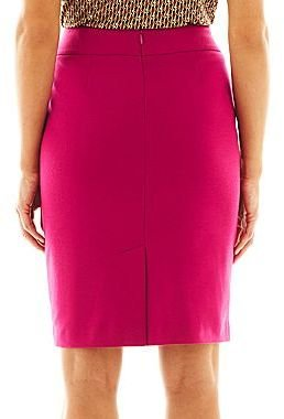 JCPenney Nine & Co 9 & Co. Pencil Skirt