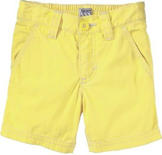 Old Navy Pop-Color Canvas Shorts for Baby