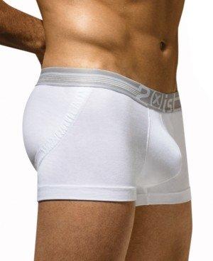 2xist Men's Underwear, Dual Lifting Tagless Trunk
