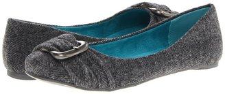 Blowfish Panni (Grey Soft Herringbone) Women's Flat Shoes
