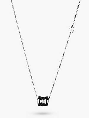 Links of London Sterling Silver Sweetie Signature Pendant Necklace, Silver