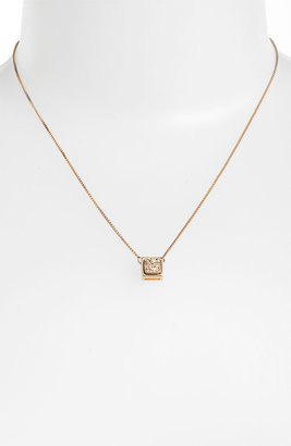 Marcia Moran Small Square Drusy Pendant Necklace