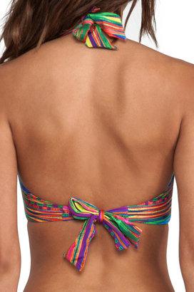 Nanette Lepore Sinaloa Stripe Underwire Bikini Top