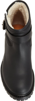 Fendi Shearling Lined Ankle Boot