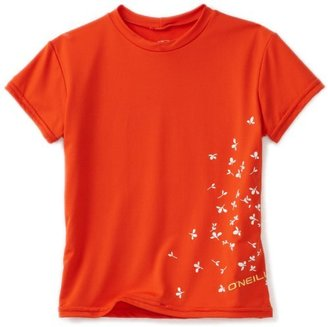 O'Neill Girl's Prairie Short Sleeve Rash Tee