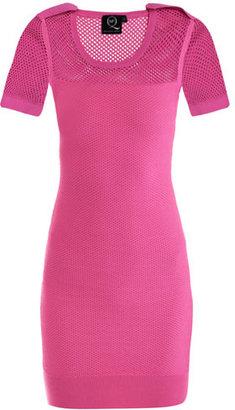 McQ by Alexander McQueen Mesh stitch dress