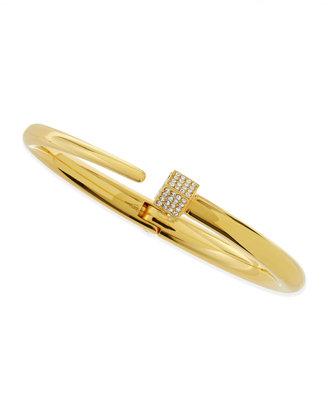 Vita Fede Eclipse Crystal Cube Bracelet, Yellow Gold