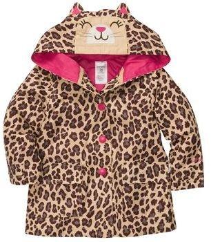 Carter's Hooded Kitty Rain Jacket