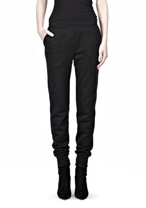 Alexander Wang Poly Rayon Fleece Sweatpants