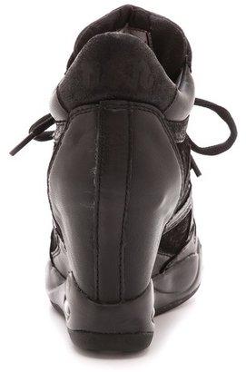 Ash Bling Wedge Sneakers