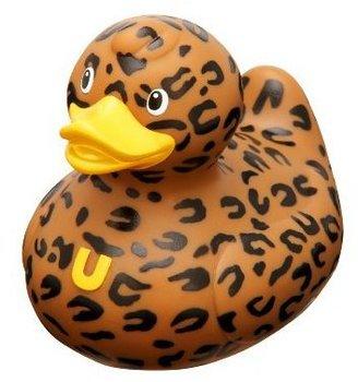 Bud Rubber Sport Duck Bath Tub Toy, Lush