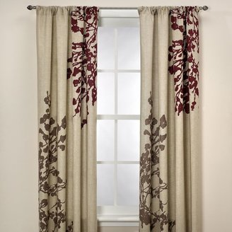 Kas Leura 63-Inch Window Curtain Panel in Plum