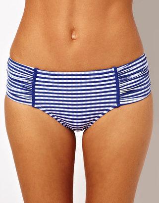 Seafolly Lucia Ruched Side Retro Bikini Pant