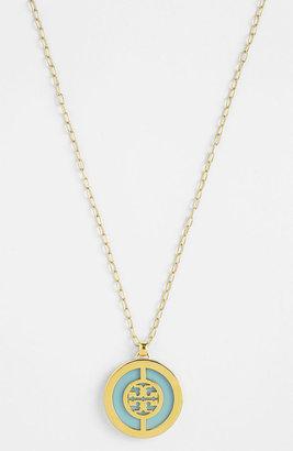 Tory Burch Long Logo Pendant Necklace