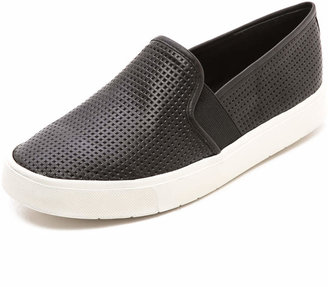 Vince Blair Slip On Sneakers $195 thestylecure.com