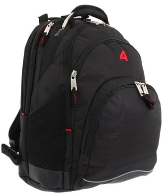 Athalon Deluxe Backpack (Black) - Bags and Luggage