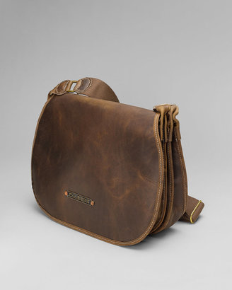 Eddie Bauer Packhorse Leather Shooters Bag