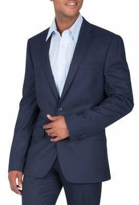 Kenneth Cole Reaction Micro Dot Suit Jacket