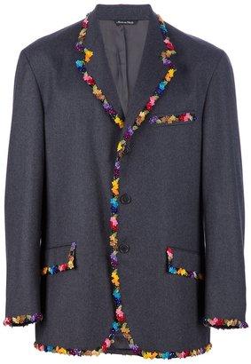 Moschino Cheap & Chic Vintage flower trim jacket