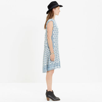 Madewell Skyscape Dress in Diamond Floral