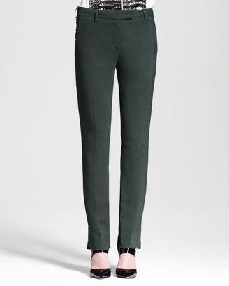Reed Krakoff Slim Split-Cuff Pants