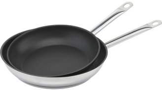 "Berndes Stainless 12"" Non-Stick Frypan by for Crate and Barrel"