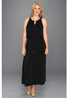 Calvin Klein Plus Size Key Hole Maxi Dress