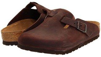 Birkenstock Boston - Oiled Leather (Unisex) (Habana Oiled Leather) Clog Shoes