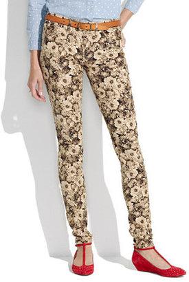 Madewell Skinny Skinny Cords in Photoflower