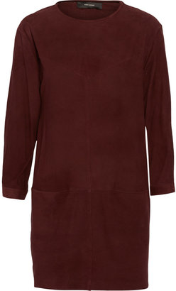 Isabel Marant Perforated suede mini dress