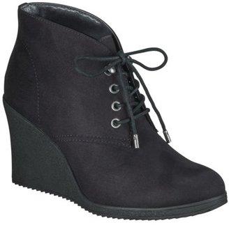 Merona Women's Kadence Wedge Ankle Boot - Black