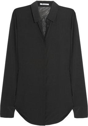 Alexander Wang Silk-gauze shirt