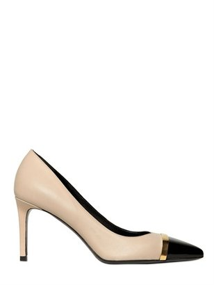 Saint Laurent 80mm Paris Pointed Calfskin Pumps