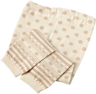Jefferies Socks Baby-Girls Newborn 3 Pair Gift Box Dotty Spotty Capri
