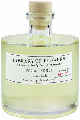 Library of Flowers FORGET ME NOT BUBBLE BATH