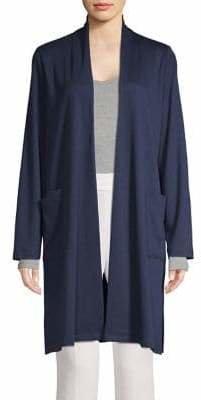 Eileen Fisher Open-Front Cardigan