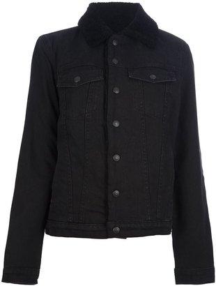 Proenza Schouler shearling lined denim jacket