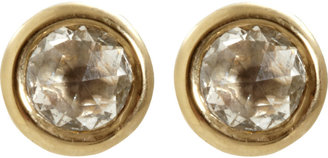 Eva Fehren Rose Cut Diamond Stud Earrings