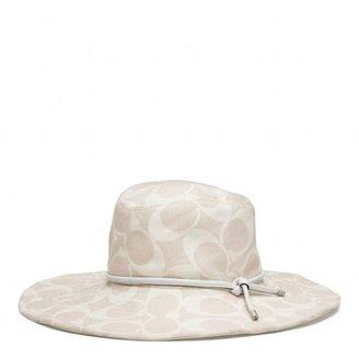 Coach Signature Floppy Sun Hat