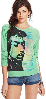Awake Juniors' Jimi Hendrix Graphic Sweatshirt